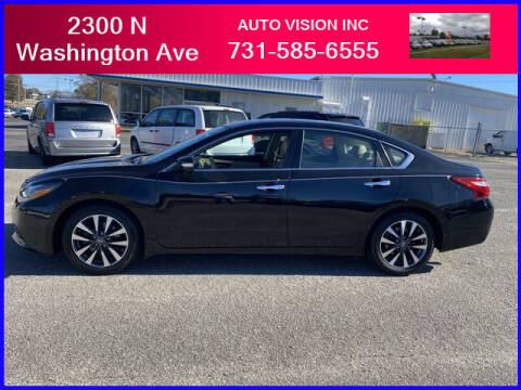 2016 Nissan Altima for sale at Auto Vision Inc. in Brownsville TN