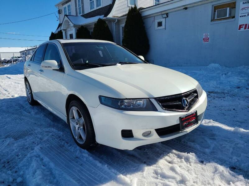 2008 Acura TSX for sale at Reyes Automotive Group in Lakewood NJ