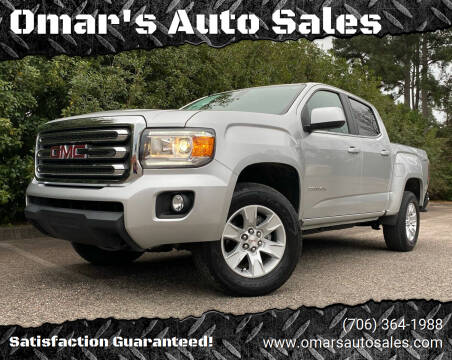 2017 GMC Canyon for sale at Omar's Auto Sales in Martinez GA