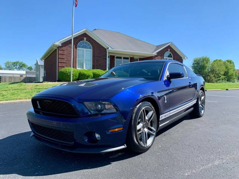2011 Ford Shelby GT500 for sale at HillView Motors in Shepherdsville KY