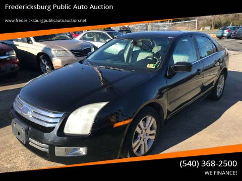 2006 Ford Fusion for sale at FPAA in Fredericksburg VA