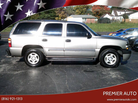 2003 Chevrolet Tahoe for sale at Premier Auto in Independence MO
