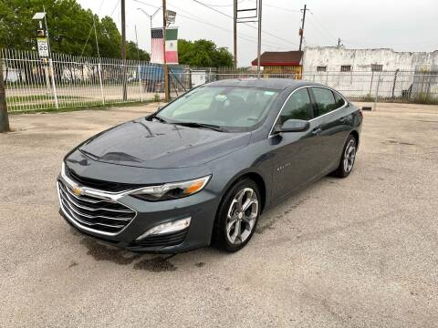 2020 Chevrolet Malibu for sale at Saipan Auto Sales in Houston TX