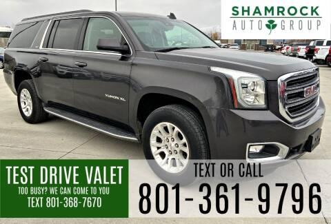2017 GMC Yukon XL for sale at Shamrock Group LLC #1 in Pleasant Grove UT