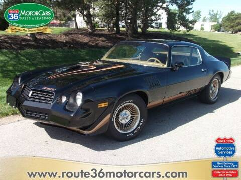 1979 Chevrolet Camaro for sale at ROUTE 36 MOTORCARS in Dublin OH