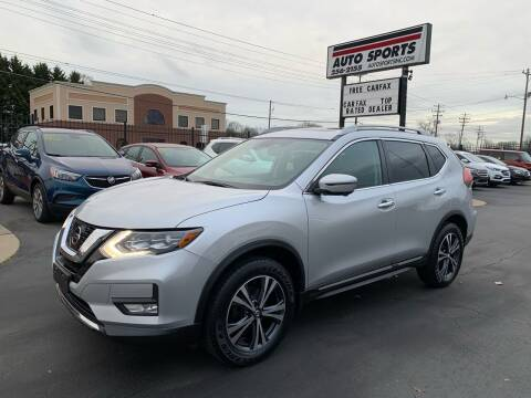 2017 Nissan Rogue for sale at Auto Sports in Hickory NC