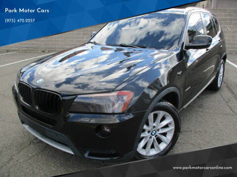 2012 BMW X3 for sale at Park Motor Cars in Passaic NJ