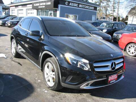 2016 Mercedes-Benz GLA for sale at CLASSIC MOTOR CARS in West Allis WI