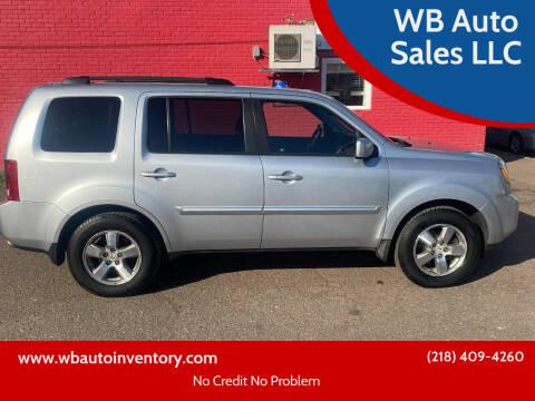 2010 Honda Pilot for sale at WB Auto Sales LLC in Barnum MN
