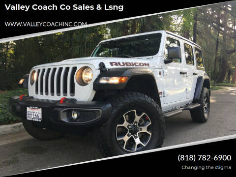 2020 Jeep Wrangler Unlimited for sale at Valley Coach Co Sales & Lsng in Van Nuys CA