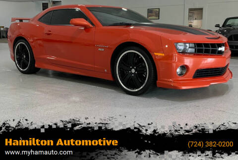 2010 Chevrolet Camaro for sale at Hamilton Automotive in North Huntingdon PA
