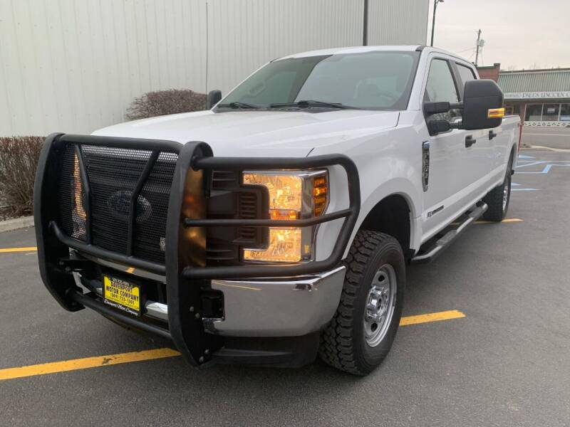 2018 Ford F-250 Super Duty for sale at DAVENPORT MOTOR COMPANY in Davenport WA