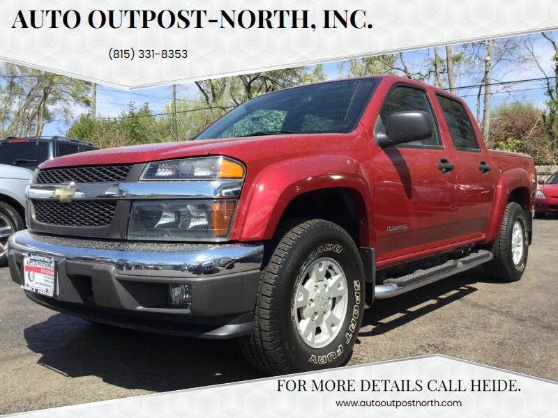2005 Chevrolet Colorado for sale at Auto Outpost-North, Inc. in McHenry IL
