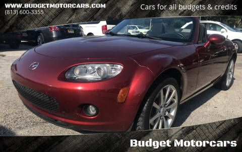 2006 Mazda MX-5 Miata for sale at Budget Motorcars in Tampa FL