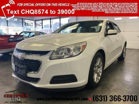 2015 Chevrolet Malibu for sale at CERTIFIED HEADQUARTERS in St James NY