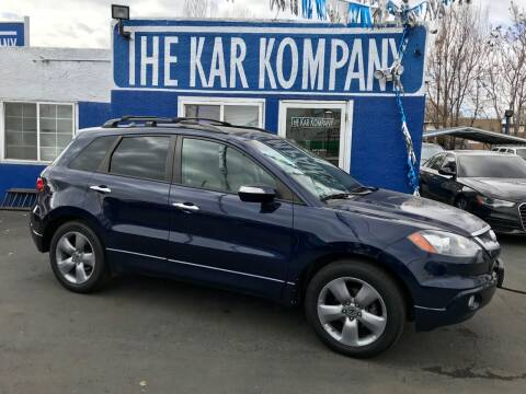 2007 Acura RDX for sale at The Kar Kompany Inc. in Denver CO
