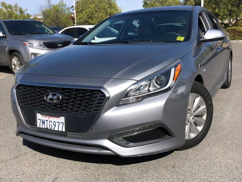 2016 Hyundai Sonata Hybrid for sale at CENTURY MOTORS - Fresno in Fresno CA