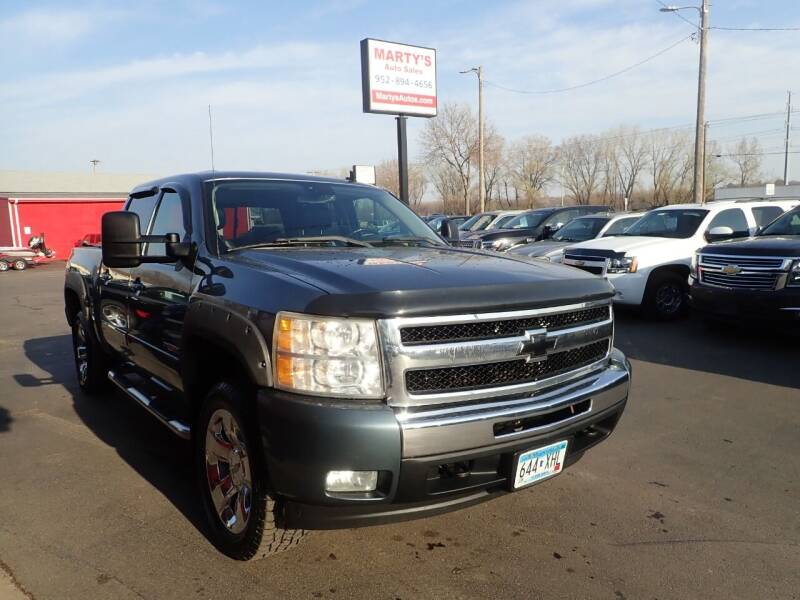 2007 Chevrolet Silverado 1500 for sale at Marty's Auto Sales in Savage MN