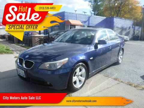 2004 BMW 5 Series for sale at City Motors Auto Sale LLC in Redford MI