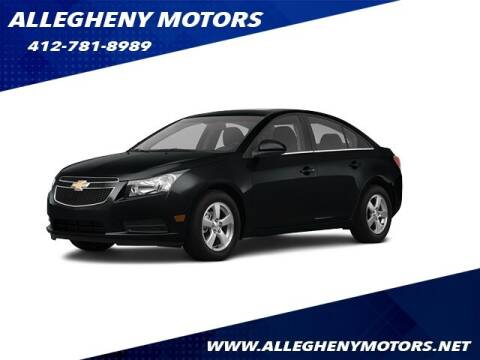 2012 Chevrolet Cruze for sale at Allegheny Motors in Pittsburgh PA