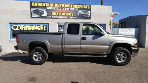 2001 Chevrolet Silverado 2500HD for sale at Advantage Motorsports Plus in Phoenix AZ