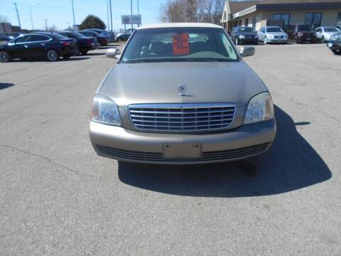 2002 Cadillac DeVille for sale at SPECIALTY CARS INC in Faribault MN