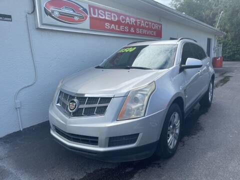2012 Cadillac SRX for sale at Used Car Factory Sales & Service in Port Charlotte FL