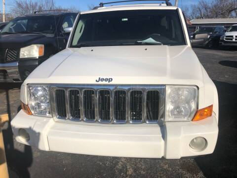 2010 Jeep Commander for sale at E-Z Pay Used Cars - E-Z Pay Cars & Bikes in McAlester OK