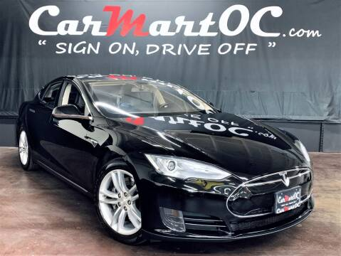 2013 Tesla Model S for sale at CarMart OC in Costa Mesa, Orange County CA