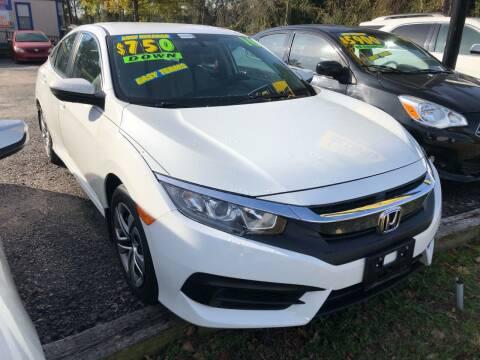2016 Honda Civic for sale at Capital Car Sales of Columbia in Columbia SC