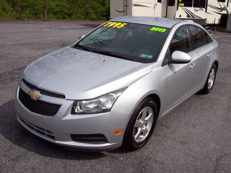 2013 Chevrolet Cruze for sale at Clift Auto Sales in Annville PA