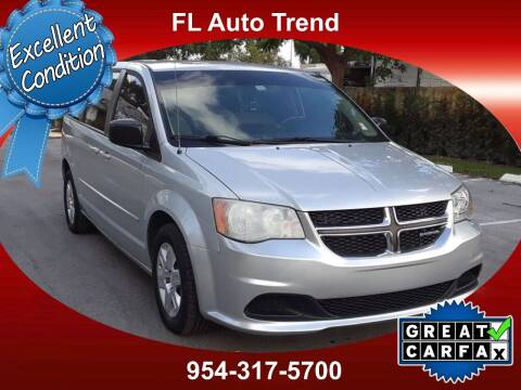 2012 Dodge Grand Caravan for sale at Florida Auto Trend in Plantation FL