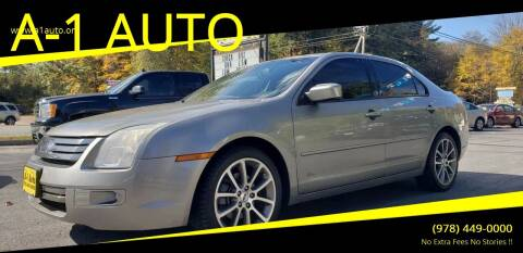 2008 Ford Fusion for sale at A-1 Auto in Pepperell MA