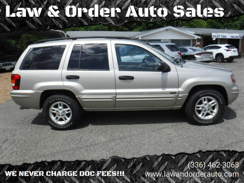 2004 Jeep Grand Cherokee for sale at Law & Order Auto Sales in Pilot Mountain NC