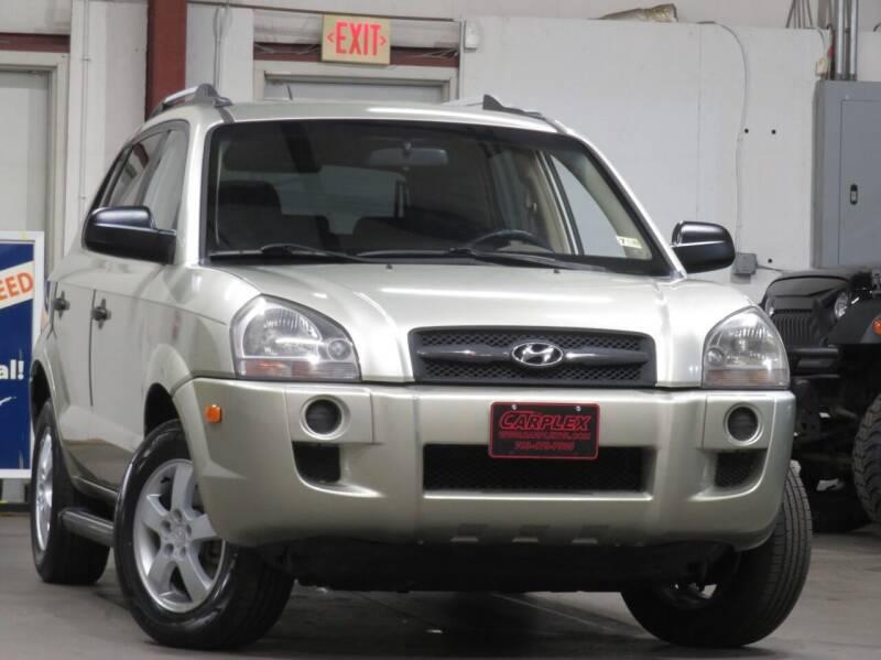 2008 Hyundai Tucson for sale at CarPlex in Manassas VA