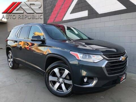 2018 Chevrolet Traverse for sale at Auto Republic Fullerton in Fullerton CA