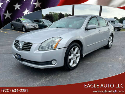 2005 Nissan Maxima for sale at Eagle Auto LLC in Green Bay WI