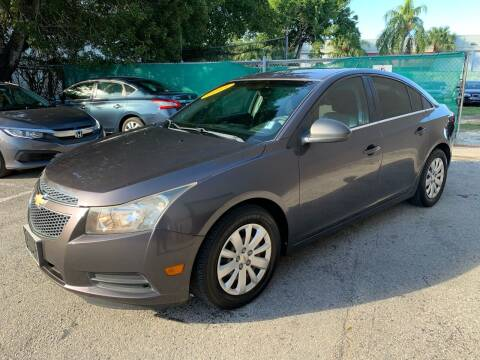 2011 Chevrolet Cruze for sale at Florida Automobile Outlet in Miami FL