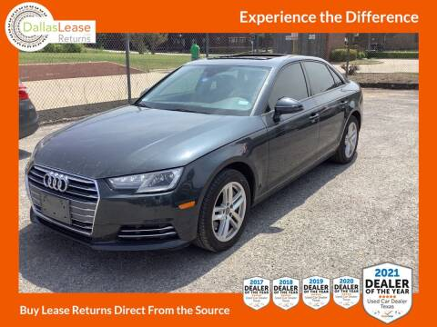 2017 Audi A4 for sale at Dallas Auto Finance in Dallas TX