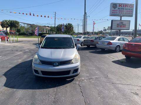 2008 Nissan Versa for sale at King Auto Deals in Longwood FL
