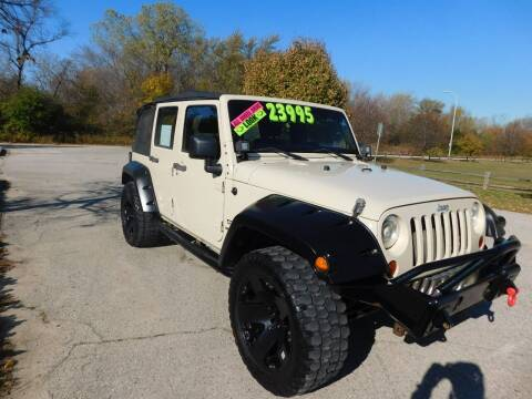 2011 Jeep Wrangler Unlimited for sale at Lot 31 Auto Sales in Kenosha WI