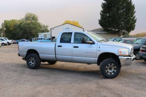 2006 Dodge Ram Pickup 2500 for sale at Northern Colorado auto sales Inc in Fort Collins CO