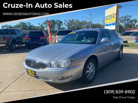 2005 Buick LaCrosse for sale at Cruze-In Auto Sales in East Peoria IL