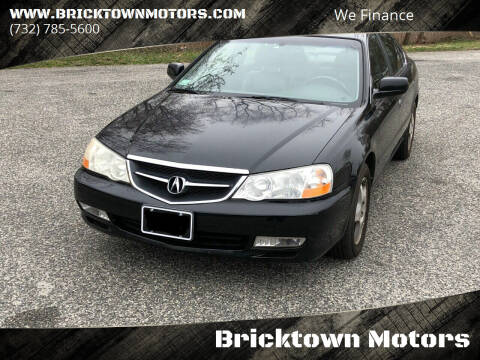 2003 Acura TL for sale at Bricktown Motors in Brick NJ