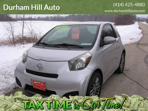 2012 Scion iQ for sale at Durham Hill Auto in Muskego WI
