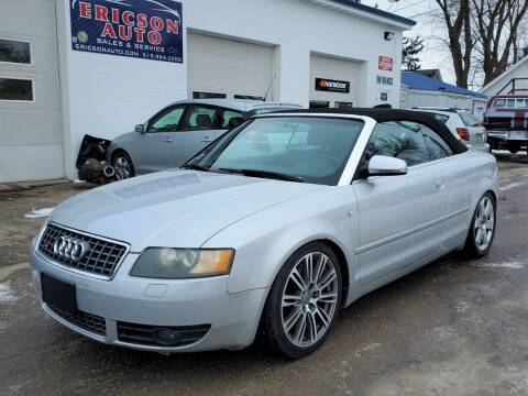 2005 Audi S4 for sale at Ericson Auto in Ankeny IA
