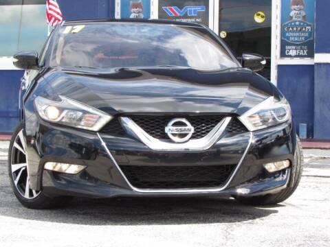 2017 Nissan Maxima for sale at VIP AUTO ENTERPRISE INC. in Orlando FL