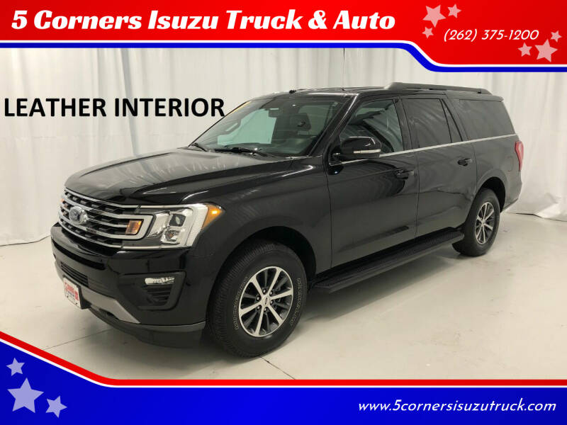 2019 Ford Expedition MAX for sale at 5 Corners Isuzu Truck & Auto in Cedarburg WI