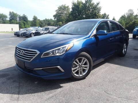 2017 Hyundai Sonata for sale at Cruisin' Auto Sales in Madison IN