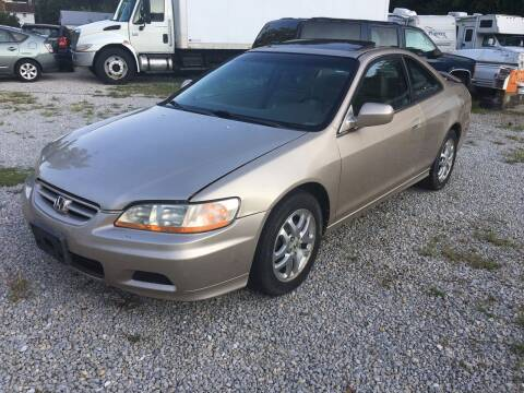 2001 Honda Accord for sale at Used Cars Station LLC in Manchester MD